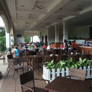 Lunch at the Club House