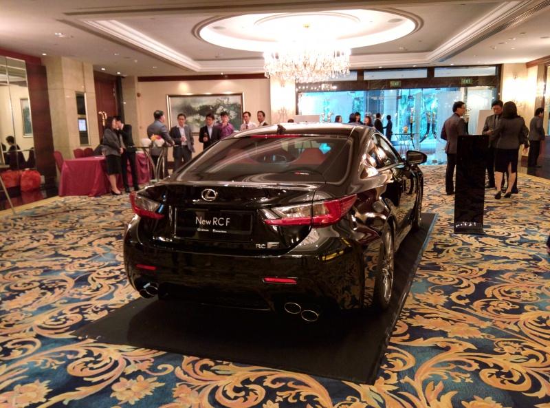 Lexus RC/RCF launch.