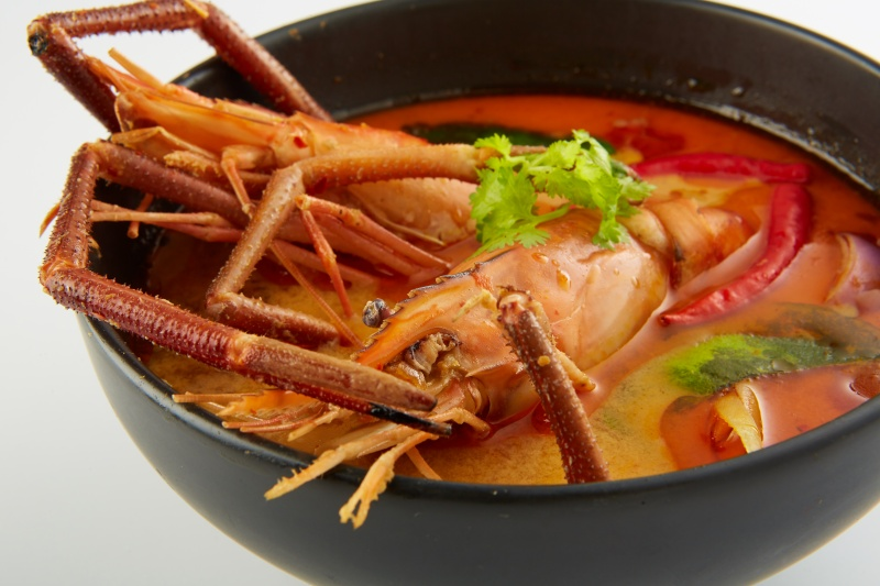 5 Awesome Flavours of Tom Yum Soup at Orchard Road