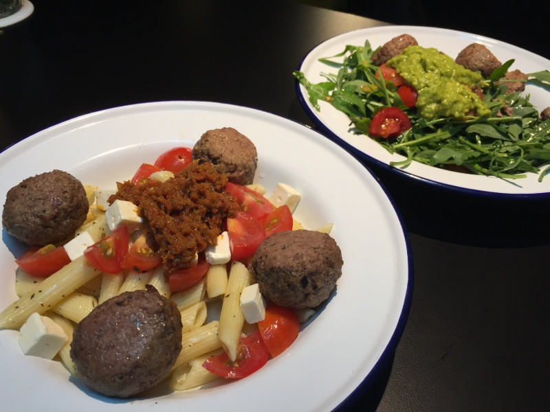 Cool ways to have Meatballs for lunch @ Telok Ayer