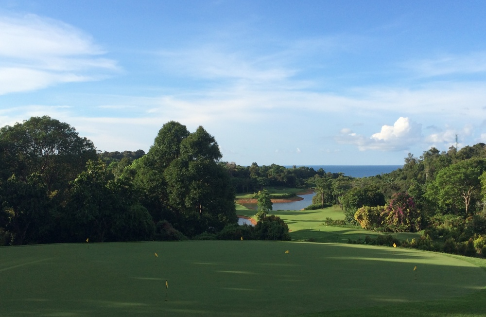 Day out at Ria Bintan Golf Course