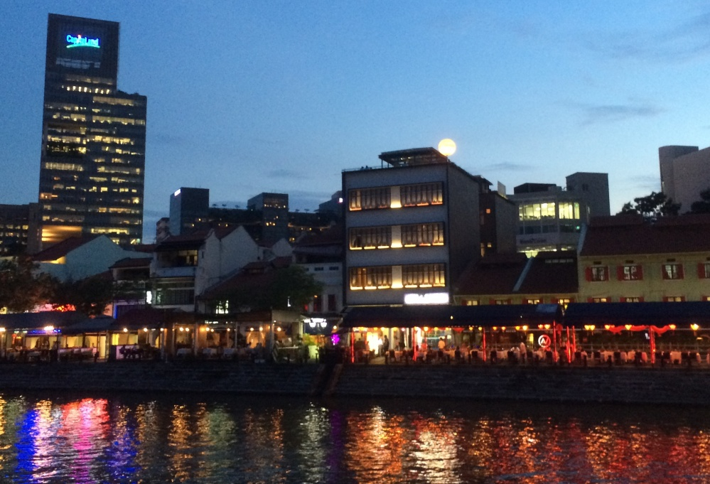 Singapore date ideas - Boat Quay
