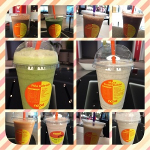 favourite nood food smoothies